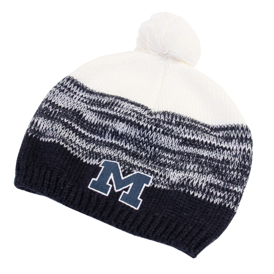 Legacy University of Michigan Women s Blended Girly Beanie Knit Hat e6a05c1cd9d