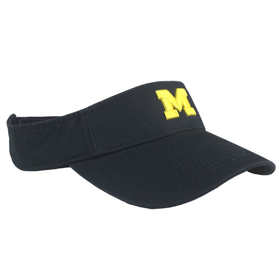 Legacy University of Michigan Navy Twill Visor