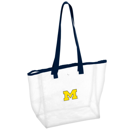 Logo Brands University of Michigan Clear Tote Bag