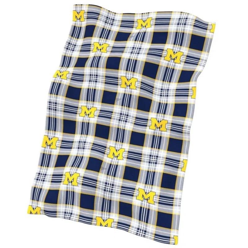 Logo University of Michigan Classic Fleece Blanket