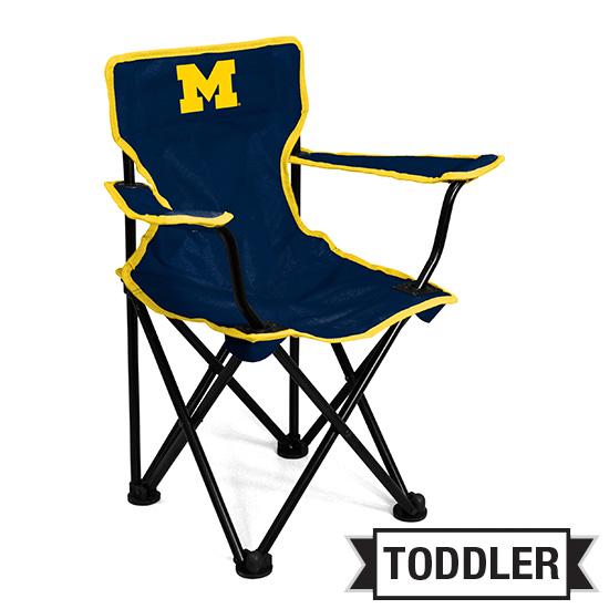 Logo Brands University of Michigan Toddler Tailgate Chair