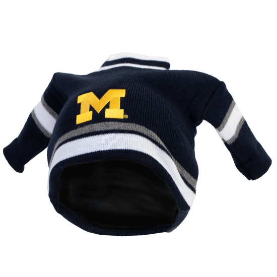 LogoFit University of Michigan Hockey Jersey Touque Knit Hat