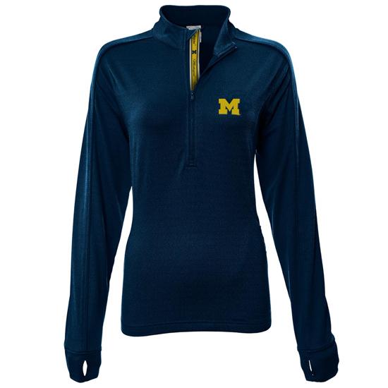 Levelwear University of Michigan Women's Pacer 1/4 Zip Pullover