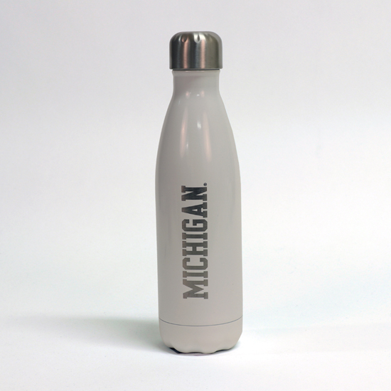 S'well University of Michigan Angel Food White Stainless Steel Water Bottle