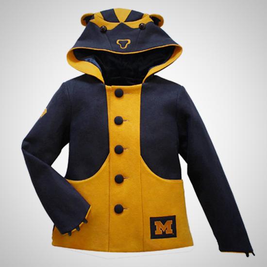 HAIL Brand University of Michigan Women's Wolverine Coat