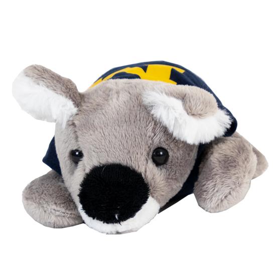 Mascot Factory University of Michigan ''Chublets'' Plush Koala Stuffed Animal
