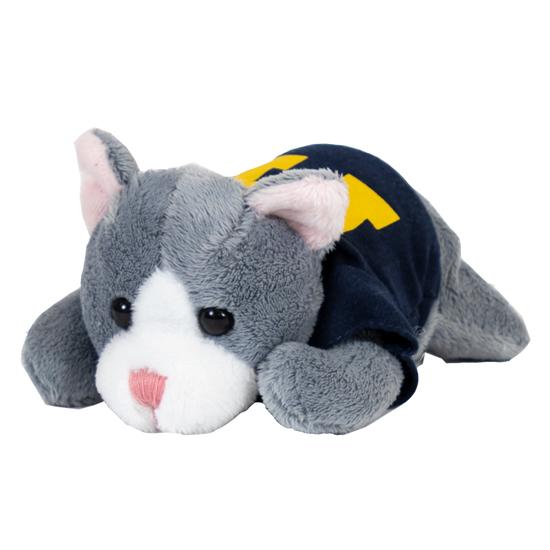 Mascot Factory University of Michigan ''Chublets'' Plush Cat Stuffed Animal