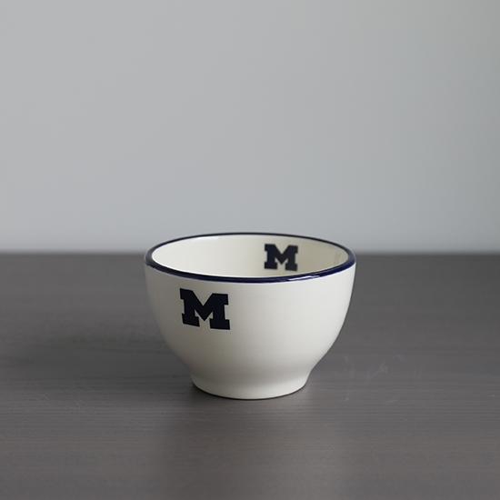 HAIL Brand University of Michigan Italian Ceramic Mini Soup/ Dessert/ Dipping Bowl