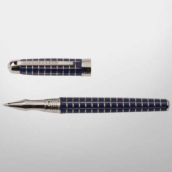MaraWatch & Co. University of Michigan Sterling Silver Pen with Diamonds