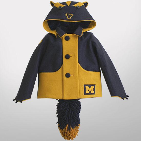 HAIL Brand University of Michigan Lil Wolverines Children's Coats