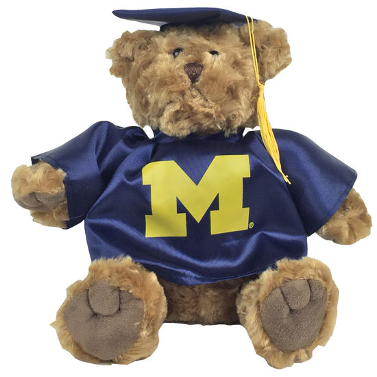 MCM University of Michigan Cap & Gown Teddy Bear
