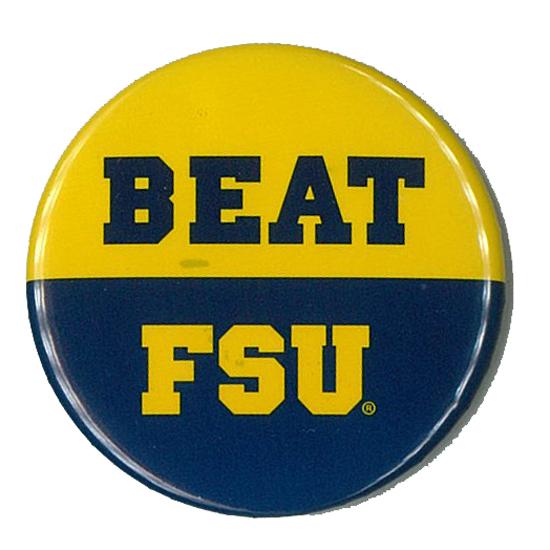MCM University of Michigan ''BEAT FSU'' Button