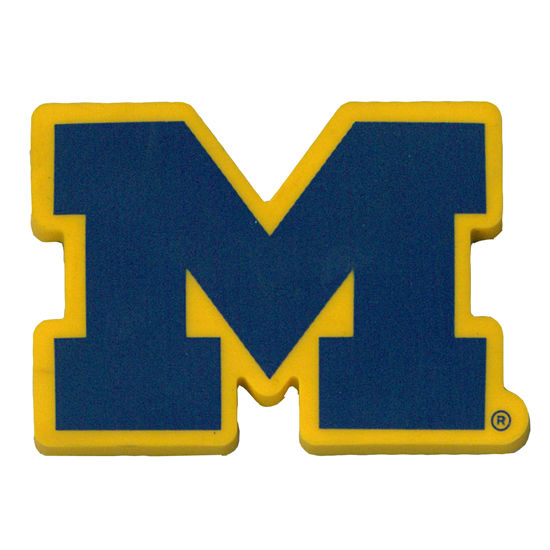 MCM University of Michigan Block M Magnet