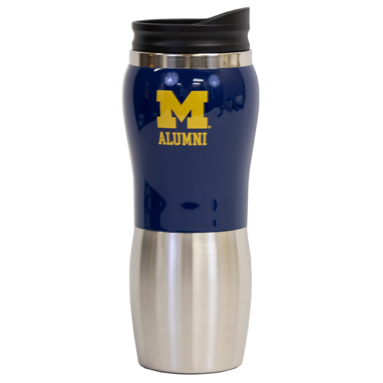 MCM University of Michigan Alumni Maui Fusion Travel Mug