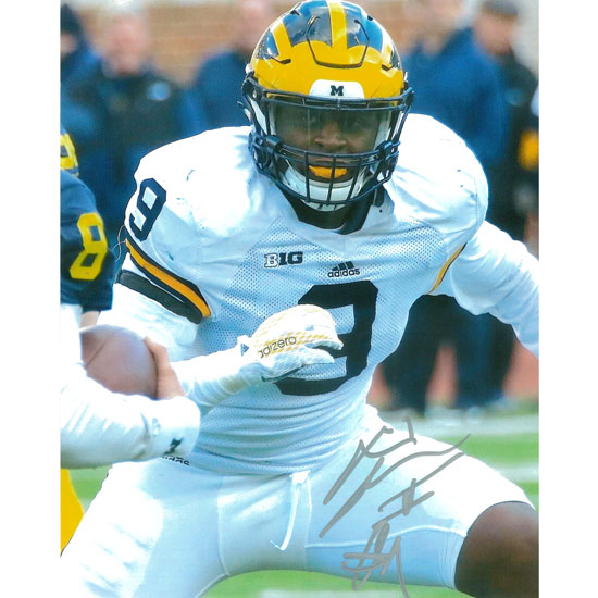 University of Michigan Football Mike McCray Autographed 8 x 10 Picture
