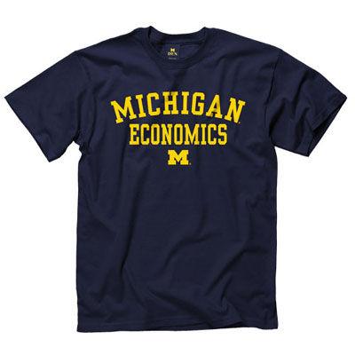 University of Michigan Economics Navy Tee