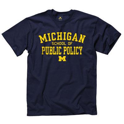University of Michigan School of Public Policy Tee