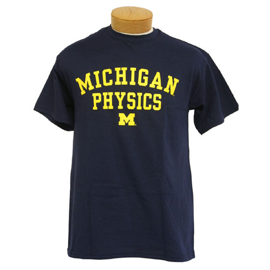 University of Michigan Physics Tee