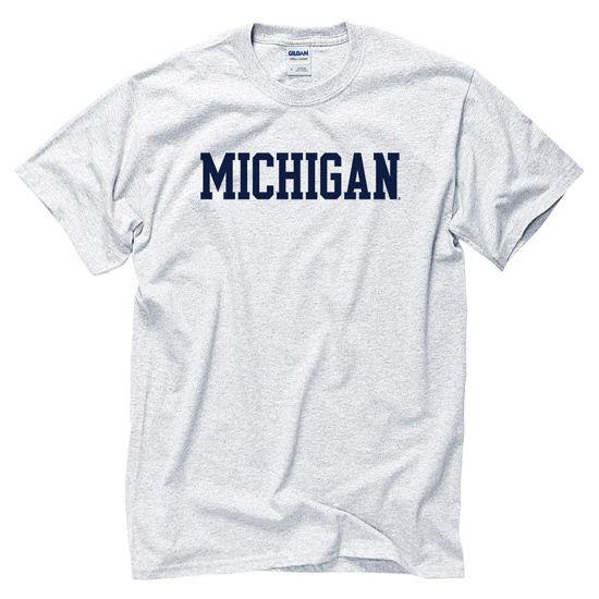 University of Michigan Ash Basic Tee
