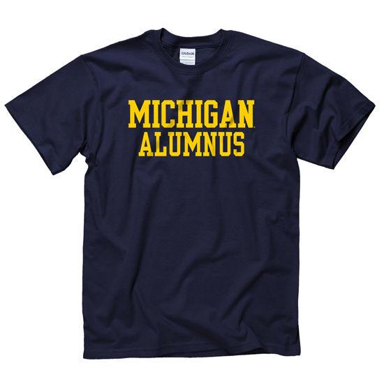 University of Michigan Alumnus Navy Tee