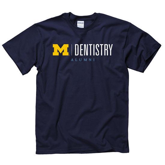 New Agenda University of Michigan School of Dentistry Alumni Navy Tee