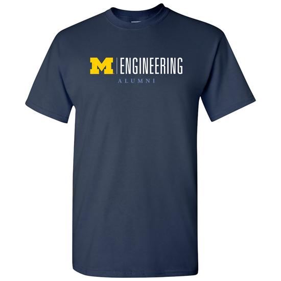 University of Michigan Engineering Alumni Navy Tee