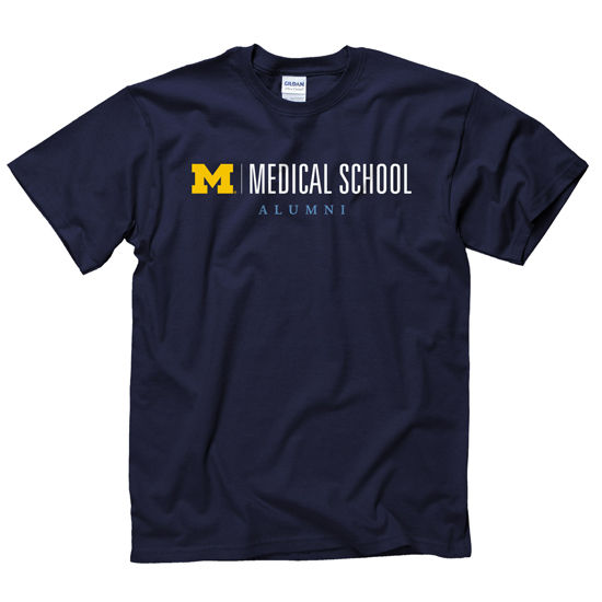 New Agenda University of Michigan Medical School Alumni Navy Tee