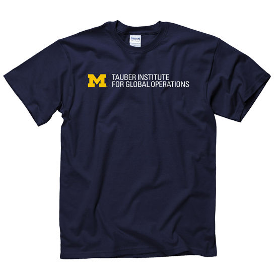 New Agenda University of Michigan Tauber Institute Navy Tee