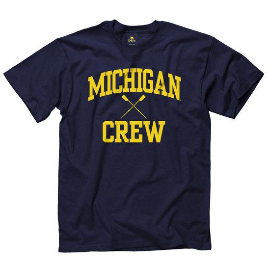 University of Michigan Crew Navy Sport Tee