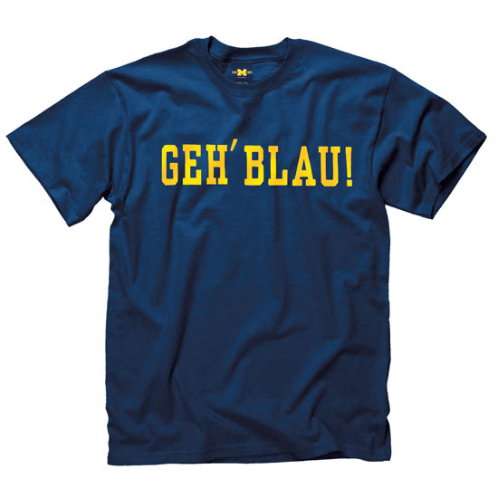 University of Michigan Navy German Language Tee