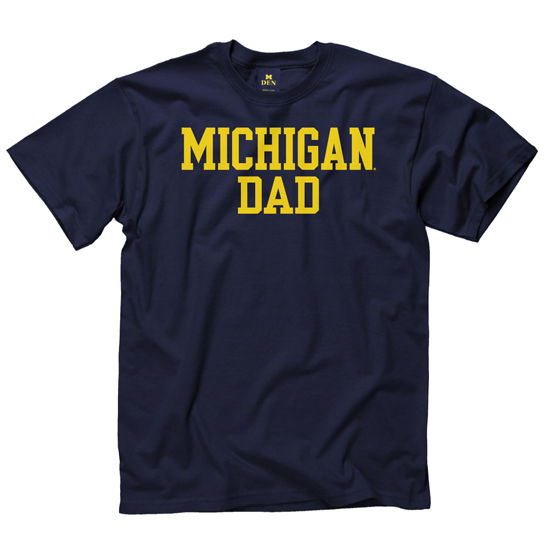 University of Michigan Dad Navy Tee