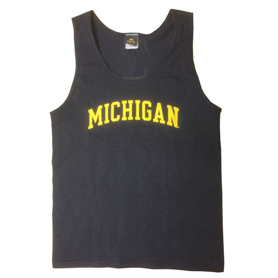 University of Michigan Navy Tank Top