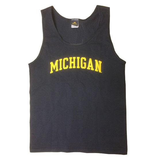 University of Michigan Navy Tank Top