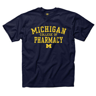 University of Michigan College of Pharmacy Tee