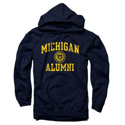 University of Michigan Alumni Seal Hooded Sweatshirt