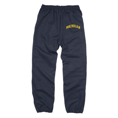 University of Michigan Navy Arch Sweatpants
