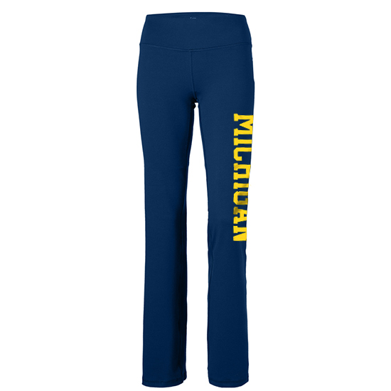 University of Michigan Women's Navy Sweatpants