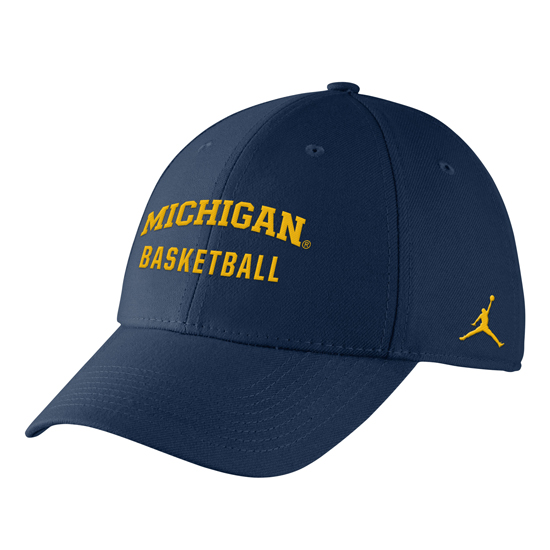 Nike University of Michigan Basketball Navy Sport Hat