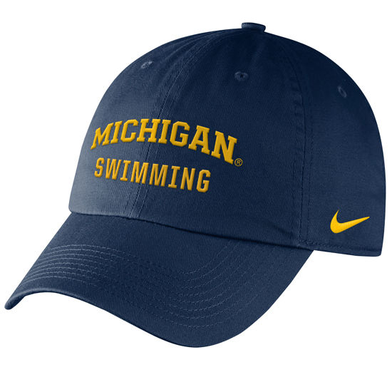 Nike University of Michigan Swimming Navy Sport Hat