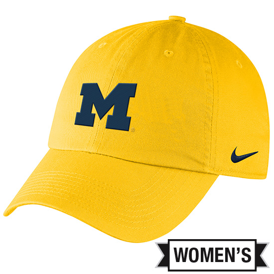 Nike University of Michigan Women s Maize Heritage86 Campus Slouch Hat.  Product Thumbnail Product Thumbnail c7fb9737c