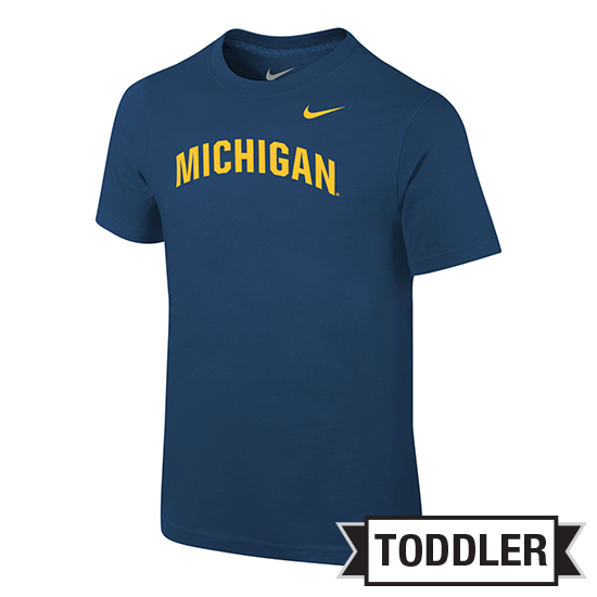Nike University of Michigan Toddler Navy Basic Tee
