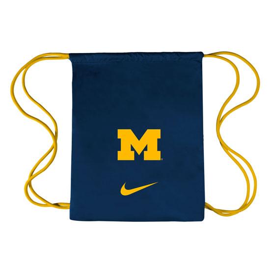 Nike University of Michigan College Vapor Gym Sack