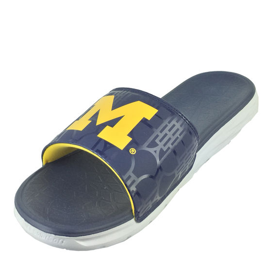 4d9fc22e4c0846 Nike University of Michigan Benassi Solarsoft Slide Sandals