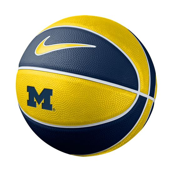 Nike University of Michigan Basketball Mini Training Basketball