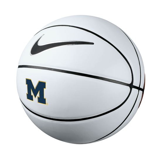 Nike University of Michigan Basketball Replica Autograph Basketball