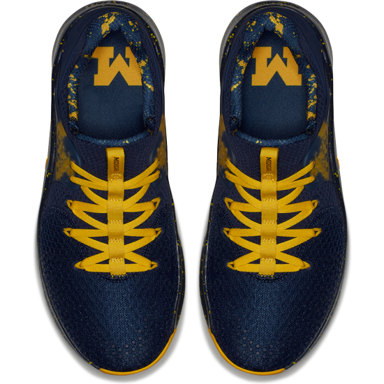 7bd7eb4648be0 Nike University of Michigan Free TR V8 Shoes