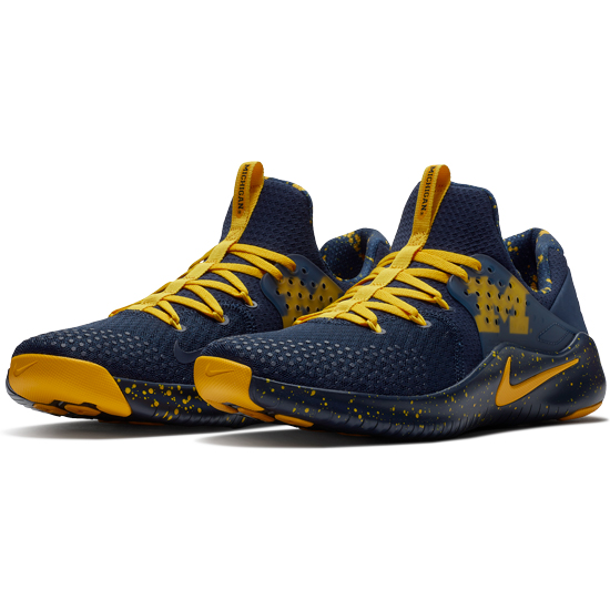 81b8155d18590 Nike University of Michigan Free TR V8 Shoes. Product Thumbnail ...