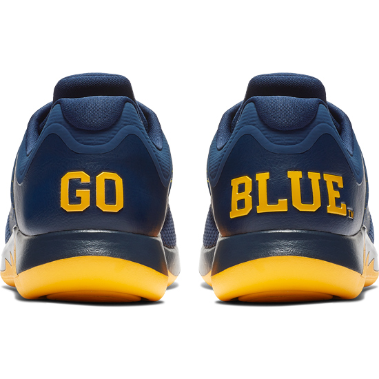 jordan university of michigan grind 2 running shoe
