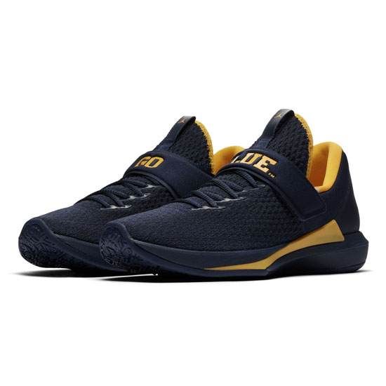 Jordan University of Michigan Football AJ Trainer 3 Shoes