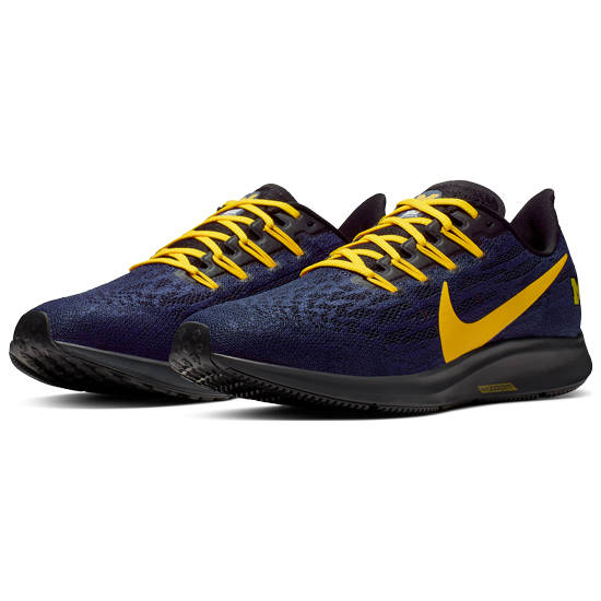 Nike University of Michigan Air Zoom Pegasus 36 Shoes